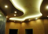 Натяжные потолки с подсветкой_19
