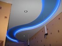 Натяжные потолки с подсветкой_23