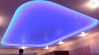 Натяжные потолки с подсветкой_25