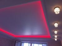 Натяжные потолки с подсветкой_26