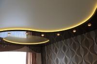 Натяжные потолки с подсветкой_27