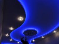 Натяжные потолки с подсветкой_29