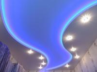 Натяжные потолки с подсветкой_31