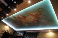 Натяжные потолки с подсветкой_35