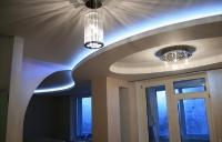 Натяжные потолки с подсветкой_8