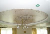 Сатиновые натяжные потолки_24