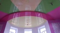 Цветные натяжные потолки_10