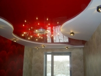 Цветные натяжные потолки_25
