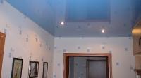Цветные натяжные потолки_27