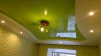 Цветные натяжные потолки_5