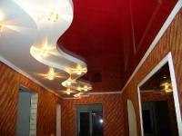 Натяжные потолки в коридоре_35