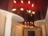 Натяжные потолки в коридоре_40