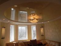 Натяжные потолки в зале, гостинной_17