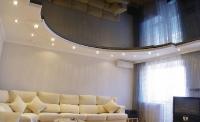 Натяжные потолки в зале, гостинной_18