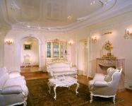 Натяжные потолки в зале, гостинной_21
