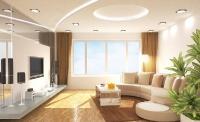Натяжные потолки в зале, гостинной_2