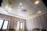 Натяжные потолки в зале, гостинной_31