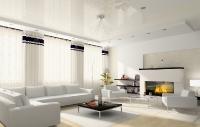 Натяжные потолки в зале, гостинной_6