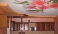 Натяжные потолки на кухне_15