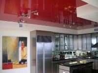 Натяжные потолки на кухне_27