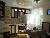 Натяжные потолки на кухне_33