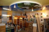 Натяжные потолки в магазине, торговом центре_14