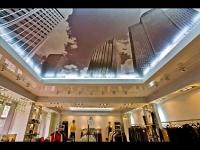 Натяжные потолки в магазине, торговом центре_1