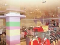 Натяжные потолки в магазине, торговом центре_9