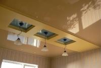 Многоуровневые натяжные потолки_11