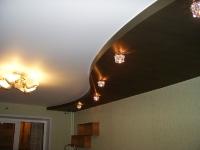Многоуровневые натяжные потолки_28
